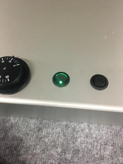 Belysningsknapp invändig - Diod mindre rund