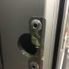 Bläck för låsning - Metallbleck ytterdörr, mindre