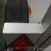 Metallhållare med rektangulär belysning i - Lock lamphållare, Silver Vänster