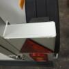 Metallhållare med rektangulär belysning i - Lock lamphållare, Silver Höger