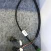 Koppling runda lampor kompl. - Kopling runda lampor 1 sladd, 3 pin (bromsljus)