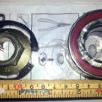 Hjullager (6,5 cm kant till kant)
