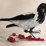 Målning av Barbro Andreasson