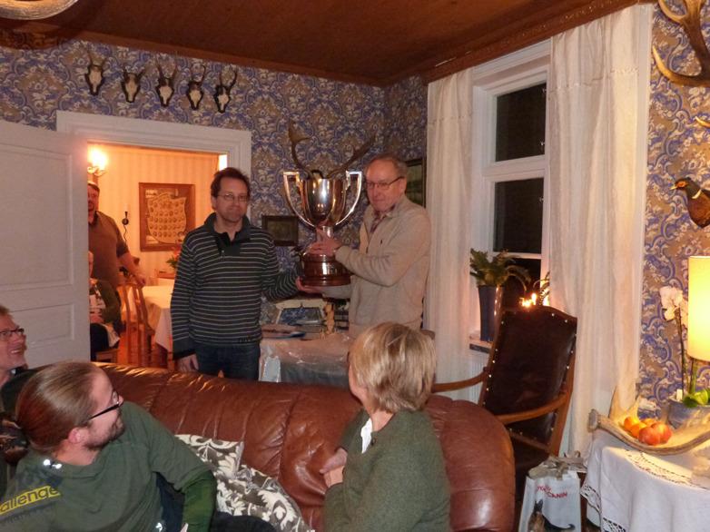 SM vinnaren 2014 Ragnar Tauson med SM bucklan
