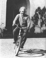 Lånat foto på Einstein