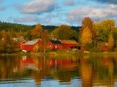 Hösten är här vacker som en saga