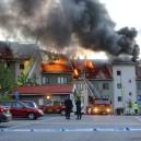 Brand i byggnad