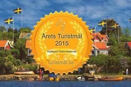 Färnebofjärdens Nationalpark har två år i rad, 2015 och 2016 utsetts till årets turistmål! Besökare har själva röstat fram vinnaren.