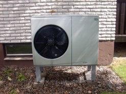 CTC - Luft/vatten värmepump (utedel)