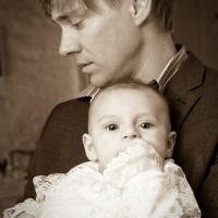 Jims dop med pappa