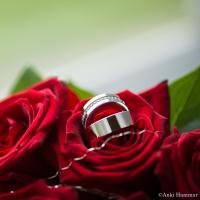 Brudbukett & ringar