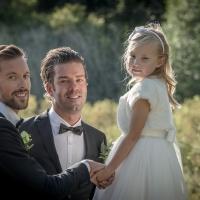 fredrik & Niklas med gudbarn