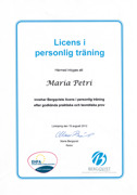 Licens Personlig träning
