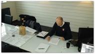 Ola Linnteg planerar för logistik kring mötet