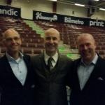 Ola Linnteg, Mark Levengood och Mika Snell