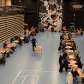 Speed Business omsatte över 1400 personliga möten den 22a februari 2018 i Jalas Arena, Falun
