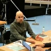 Patrik Schultz från Dalarnas Företasgshälsa på Speed Business med Mika Snell