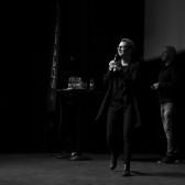 Linda Wallin, näringslivschef Falu Kommun och Mika Snell på Speed Business i nov 2019