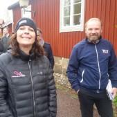 Mäklarhuset Borlänge och Allkontor med Lasse Olsson, deltog på Speed Business-promenad arrangerad av Mika Snell