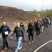 Speed Business-promenad i maj 2020 med Mika Snell som arrangör