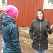Tina Sjöström på Speed Business-promenad 14e maj 2020 med Mika Snell som arrangör