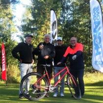 Legender från Dalsjö GK och Företagarna på Speed Business Golfen 2020