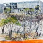 Dystopiskt landskap II-0129