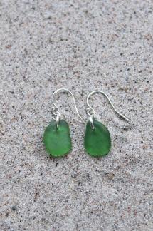 Green örhängen