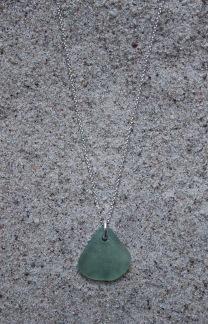 Sea green halsband