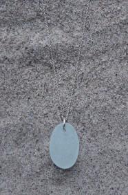 Oval halsband