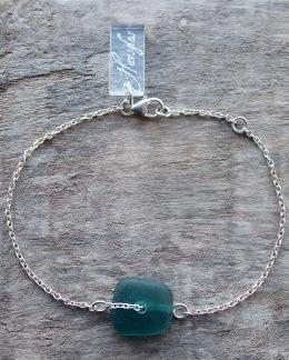 Teal armband