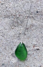 Green halsband