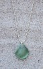 Glowing green halsband