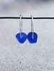 Small loop Blue örhängen