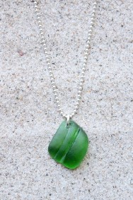 Green Seashell halsband