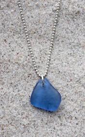 True blue halsband