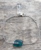 Deep Turquoise armband