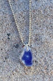 Undercover Blue halsband