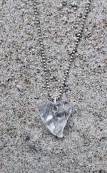 Crystal Heart halsband