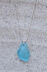 Brilliant blue halsband