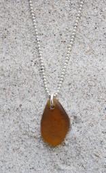 Light brown halsband
