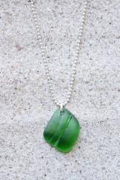 Green Seashell halsband