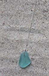 Light blue halsband