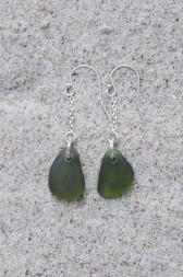 Olive örhängen