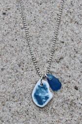 Perfect Match Blue Fairy tale halsband