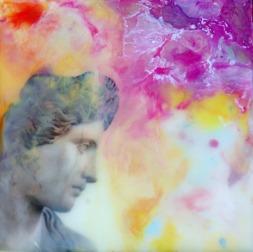 Enkaustisk konst & mixed media