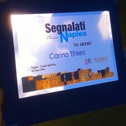 'Naples goes to Segnalati' - International Art Award, 2016