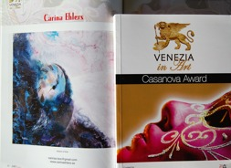 Art catalogues from  'Casanova' Art Award, September 2016