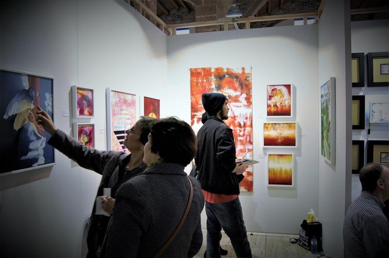 From Barcelona Art Fair, 2016