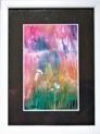 Original Encaustic Art Cards - In Frame - ArtCard10 - in frame